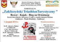 Czytaj więcej: Zaproszenie na zakliczyński triathlon turystyczny