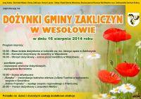 Czytaj więcej: Dożynki 2014 w Wesołowie - będzie rekordowa liczba grup wieńcowych