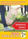Czytaj więcej: Informacja o systemie gospodarowania odpadami komunalnymi w gminie Zakliczyn