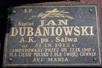 Czytaj więcej: kpt. Jan Dubaniowski i Oddział Partyzancki