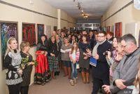 """Czytaj więcej: Tłumy na ostatnim w 2013 roku wernisażu w Galerii """"Poddasze"""""""