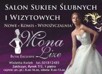 Czytaj więcej: Salon sukień ślubnych.
